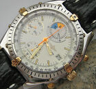 WoW ★ Breitling Regatta Yachting Chronograph Uhr Chrono Chronomat 18 Kt Gold Rar