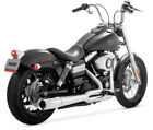 Vance  Hines Pro Pipe Chrome Exhaust 2012 2014 Harley Dyna Wide Glide FXDWG