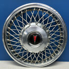 ONE 1987 1988 Pontiac 6000  5090 14 Wire Hubcap Wheel Cover OEM 10091785 USED