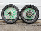Excel KX250f Wheel Set Kawasaki Kenda Tires Rims KX 250 Rotors Sprocket Wheels