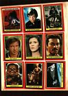 1983 Topps Star Wars Return of the Jedi Series 1 Complete Set of 132 Cards Ex.