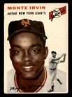 Top 10 Baseball Cards to Remember Monte Irvin 21