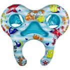 Dual Baby Seat Pool Float Rider Kids W 4 Inflatable Toys Swimming Pool Summer