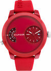 NEW Watch Tommy Hilfiger MEN'S SILICONE  RED COLOR