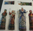 Jim Shore Enesco Nativity 2009 Set of 6 Pieces Set  4014469 New Heartwood Ck