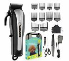 Professional Pet Clippers Heavy Duty Trimmer Set Thick Hair Dog Cat Grooming Kit