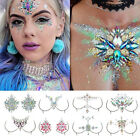Festival Chest Jewels Stick on Gems Rhinestone Body Boobs Chest Tattoo Sticker
