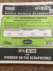Pioneer Scrapbook Refill Pages SB 700R 25 Sheets Buff Pages