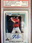 Top George Springer Rookie Cards and Key Prospects 49