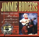 Jimmie Rodgers - Recordings 1927-1933 [New CD]