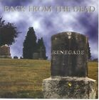 Renegade - Back from the Dead [New CD]