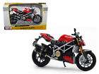 DUCATI MOD STREETFIGHTER S 1/12 MOTORCYCLE MODEL BY MAISTO 31197