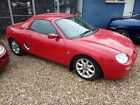LARGER PHOTOS: 2000 MG MGF red with black trim spares or repairs fitted hardtop