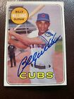 BILLY WILLIAMS 1969 Topps Hand Signed Authentic Autograph