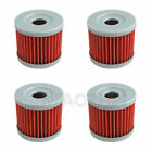 4 PCS Oil Filter Fit For HYOSUNG RX125 125 125D 125SM XRX125 GF125 NEW