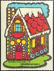 Vintage Scratch  Sniff Stickers Mello Smello Gingerbread Excellent