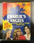 Topps Charlie's Angels Series One Trading Cards 1977 Empty Box Vintage