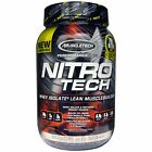 Muscletech  Nitro Tech  Whey Isolate   Lean Muscle Builder  Cookies and Cream  2