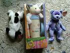 TY Official Club Kit Beanie Babies Bits Bear Travel Mug Spot, Clubby Lot