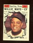 Vintage Willie Mays Baseball Card Timeline: 1951-1974 56