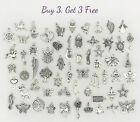 Buy 3 Get 3 Free Dangle Charms for Bracelets Necklaces DIY Jewelry Pendants 7