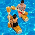 CFTech Inflatable Pool Floats Pool Party Play Boat Raft Collision Toys Wood G