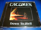 CACUMEN pre bonfire cd DOWN TO HELL  free US shipping