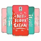 OFFICIAL CAT COQUILLETTE QUOTES TYPOGRAPHY 7 HARD BACK CASE FOR SAMSUNG PHONES 2