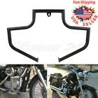 Engine Guard Crash Bar Highway For Harley Heritage FLSTC Softail Fat Boy 2000-17