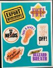 Vintage Stickers Hallmark Sayings Dated 1985