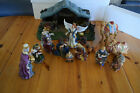 Hawthorne Village Star of Hope Creche Thomas Kinkade Nativity