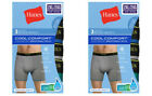 6-Pack Hanes Men's FreshIQ Cool Comfort Breathable Mesh Boxer Briefs Size 2XL