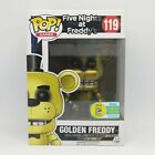 Funko PoP Golden Freddy #119 Games Five Nights at Freddy's Horror Bear SDCC