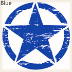 Graphic Off Road Vinyl Army Star Auto Decal Car Hood Sticker For Jeep Wrangler