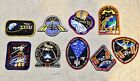 NASA ISS SHUTTLE INTERNATIONAL SPACE STATION EMBROIDERED PATCHES 9