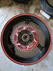 05 06 HONDA CBR600RR CBR 600 600RR REAR WHEEL RIM STRAIGHT