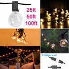 100FT 50FT 25FT G40 Bulb String Light Filament Outdoor Patio Globe String Lights