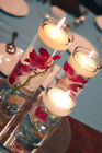 4 SETS 3 Piece Cylinder Vases Wedding Glass Table Centerpiece Candle holders