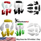 Plastic Fender Fairing Body Kit For Suzuki Kawasaki KX65 KLX110 DRZ110