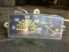 88 Yamaha Jog 50 CC Scooter Moped Dash Speedometer Fuel Gage Instrument Cluster
