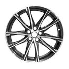 68841 Reconditioned Oem Factory Aluminum 17x7 Wheel Machined Wblack