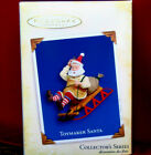 Hallmark 2005 TOYMAKER SANTA #6 in Series Sled New Ornament