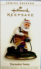 Hallmark 2006 TOYMAKER SANTA #7 in Series Train New Ornament