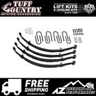 Tuff Country 25 EZ Ride Lift Leaf Springs 76 86 Jeep CJ5 CJ7 42701K