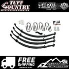 Tuff Country 4 EZ Ride Lift Leaf Springs 76 86 Jeep CJ5 CJ7 42703K