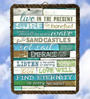 Tropical Beach Ocean 90 Sayings Sea Wall Decor Prints Plaques lalarry Ventage
