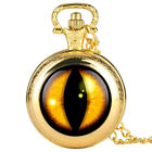 The Eye of Right Theme Pocket Watch Quartz Pocket Watch Necklace Ideal Gifts