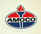 Vintage Amoco Oil & Gas Co. Station Racing Thin Uniform Patch New NOS 1970s