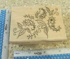 PAISLEY PATTERN MW RUBBER STAMP PENNY BLACK