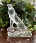 Lalique Tancrede Cheetah French Crystal Sculpture Mint Signed Authentic